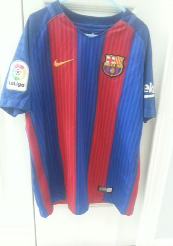 Messi Kids 2016 Barcelona Nike Jersey Boys Sz M