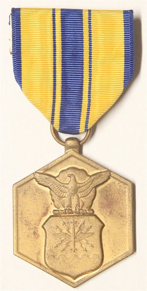 US Civilian Medal:  Air Force Commendation, NAMED
