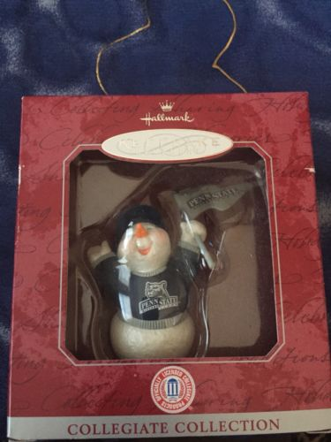 Penn State Hallmark Ornament - New In Package