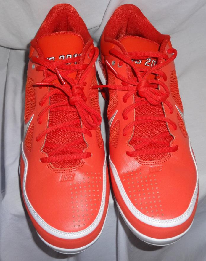 2011 CWS Nike Sample Promo Team Issued College World Series Baseball Cleats 11