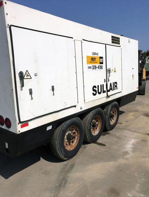 2008 SULLAIR 1600HAFDTQ Compressor 8775 Hours - Illinois