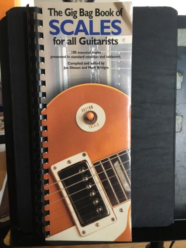 The Gig Bag Book Of Scales For All Guitarist