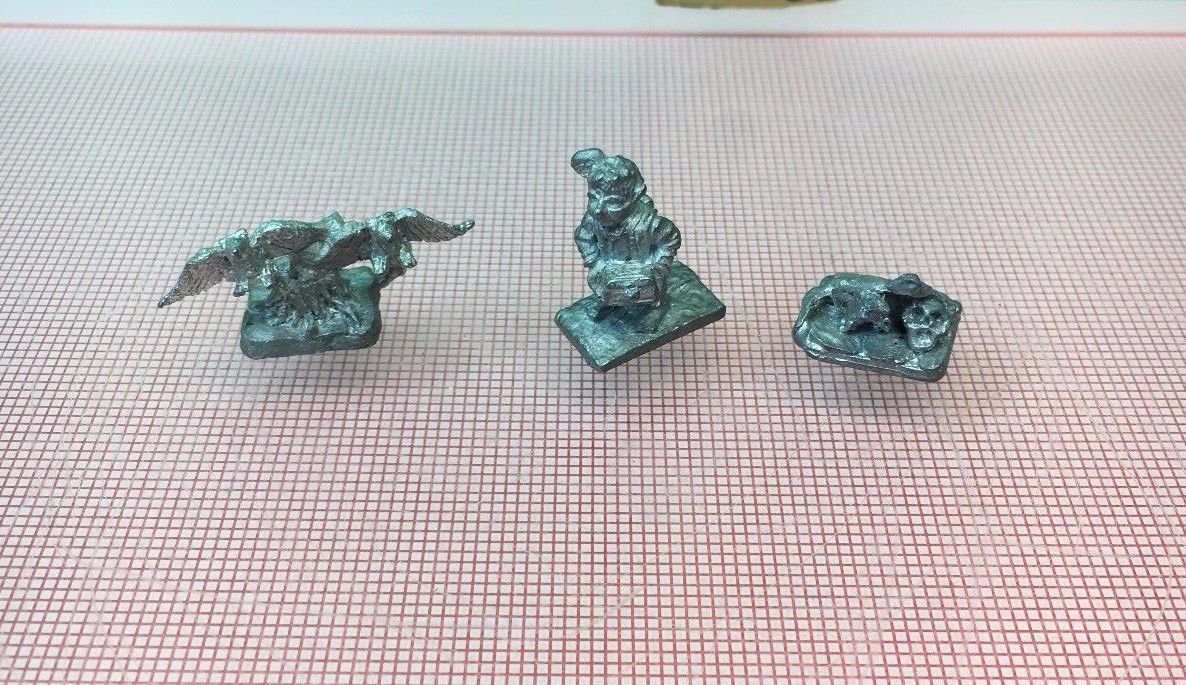 Vintage 1980s Metal Miniatures 25mm Thief Burglar Vultures D&D Role Play Gaming