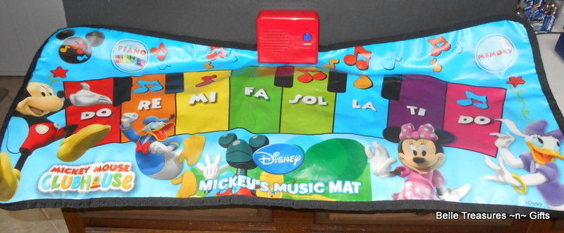 Mickey Mouse Clubhouse Mickey's Music Mat Piano