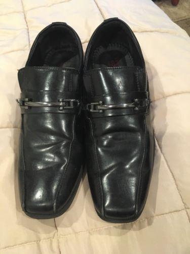 Dexter Bots Black Dress Shoes Size 7 1/2