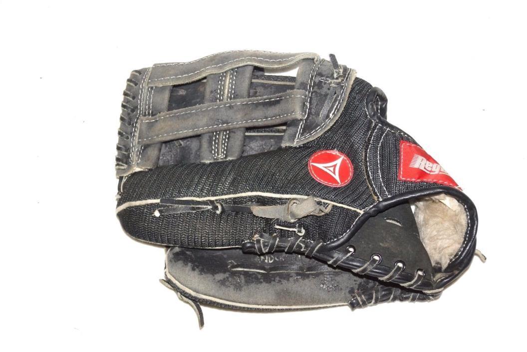 Regent Baseball Softball Glove Mitt Nylon Mesh black