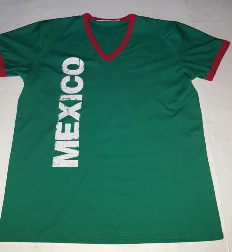Mexico soccer jersey large  Presidente