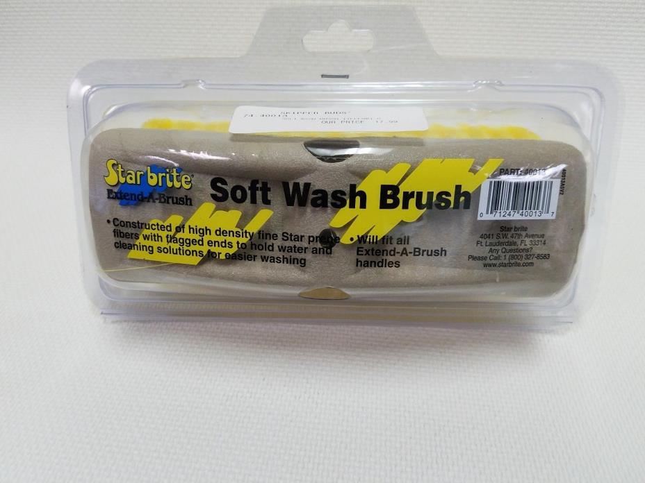 STARBRITE EXTEND-A-BRUSH SOFT WASH BRUSH (YELLOW) 74-40013