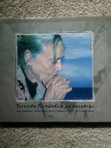 TERESITA FERNANDEZ EN NOSOTROS Silvio Rodriguez  Amaury Perez  Sara Gonzales  CD