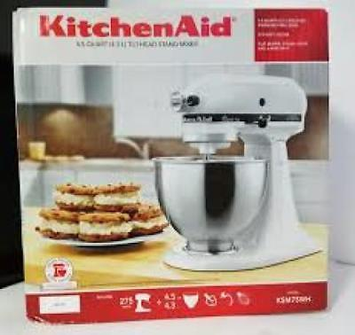 KITCHEN AID ksm75wh MIXER