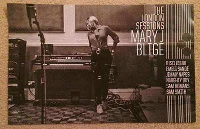 Mary J Blige - The London Sessions US 11 x 17