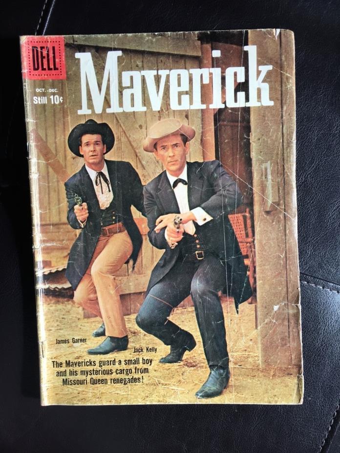 Maverick (Dell, 1959 Silver Age) Issue #7
