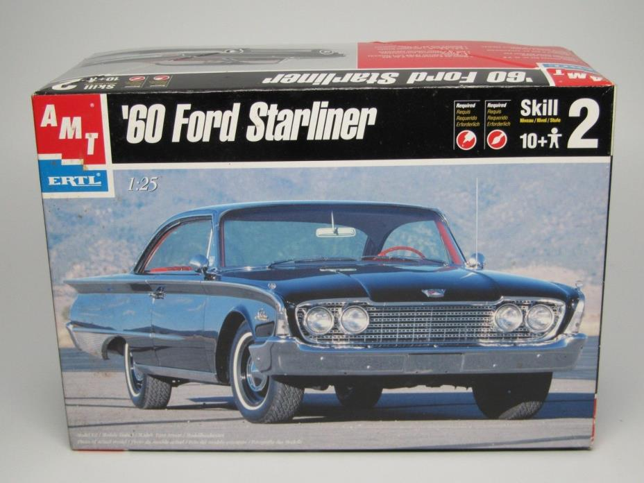 1960 Ford Starliner  1/25 Scale  AMT #30044