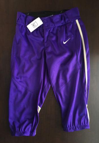Nike Women's Softball Pants NWT Purple Size M
