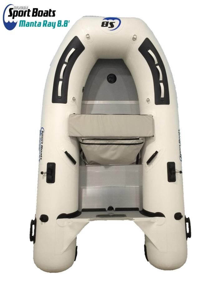 Inflatable Sport Boats - Manta Ray 8.8ft - Dinghy Fishing Boat