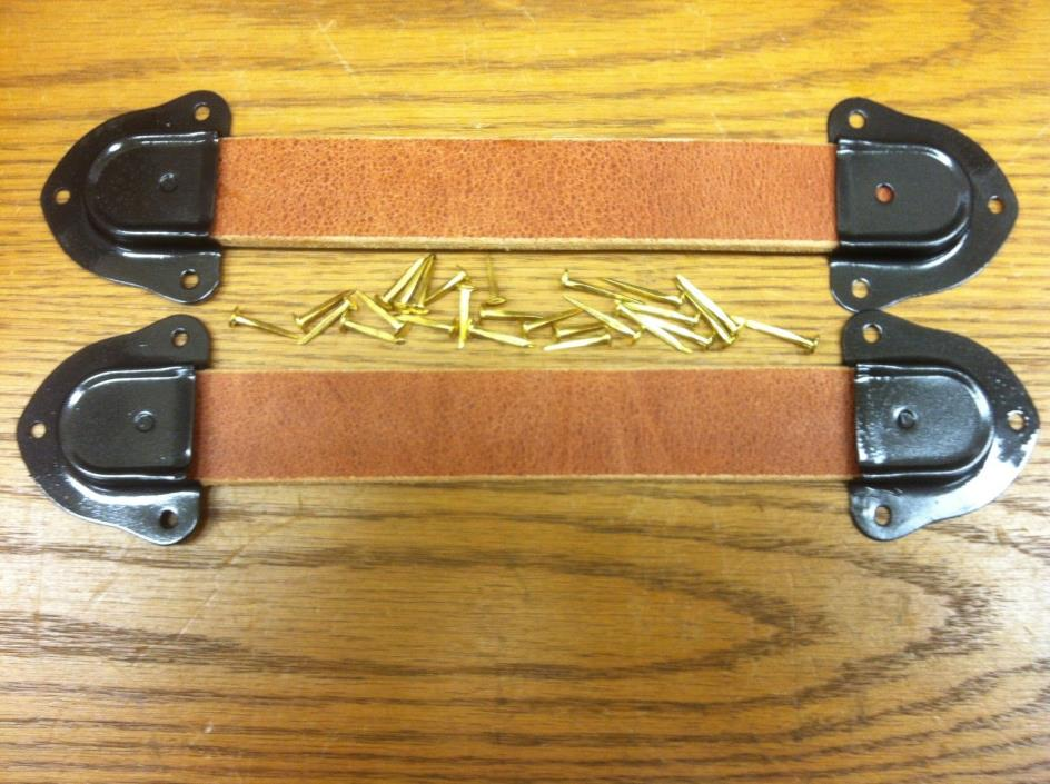 Chest, Trunk & Box--Leather Handle Kit--Z-1