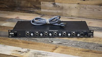 Rane HC-6 6-Channel Headphone Distribution Amplifier - HC6 U080703