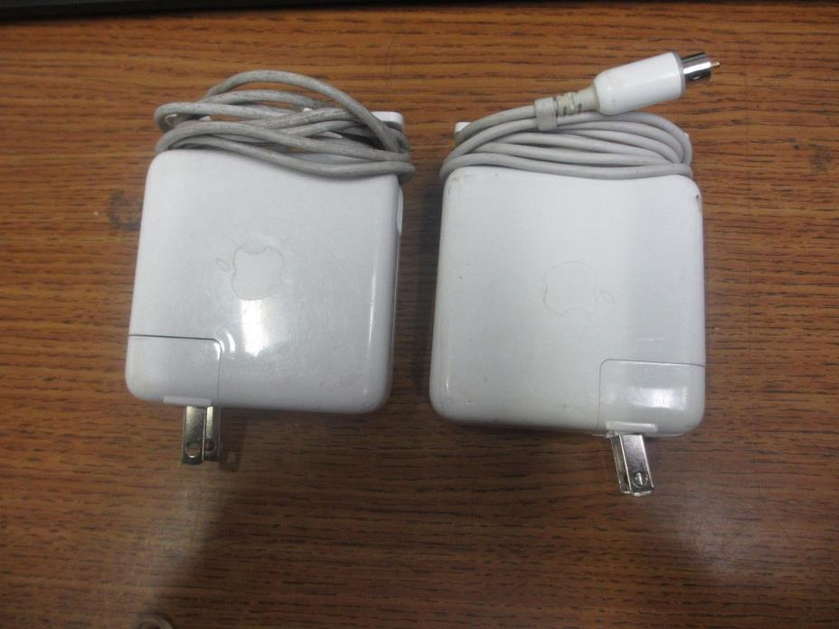 LOT OF 2 OEM Genuine Apple iBook G3/G4 45W charger (A1036)
