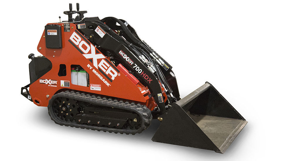 MORBARK BOXER 700HDX Mini Skid Steer Compact Utility Loader, Expandable Tracks