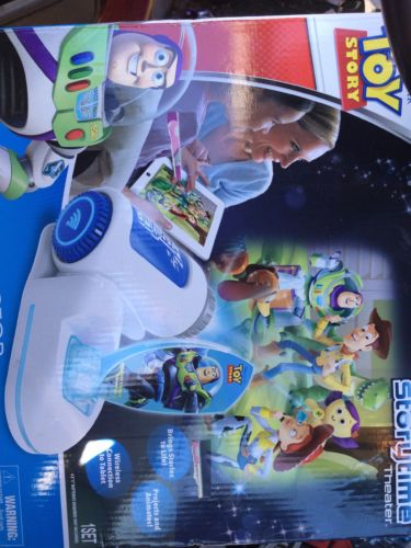 Disney Pixar Toy Story Storytime Movie Theater Projector Press N' Play NIB NEW