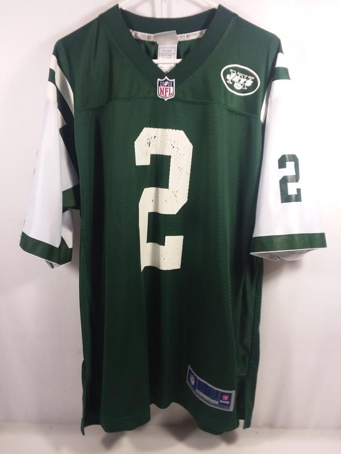 New York Jets Jersey Mens Large Nick Folk NFL Pro Line #2
