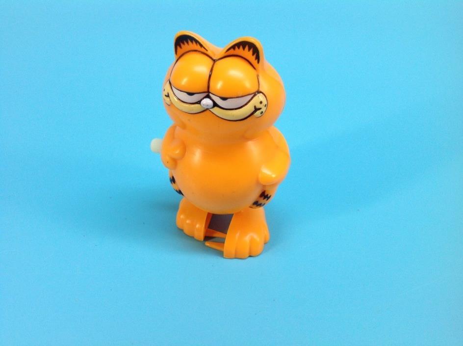 1981 Garfield Wind-up toy walker figure