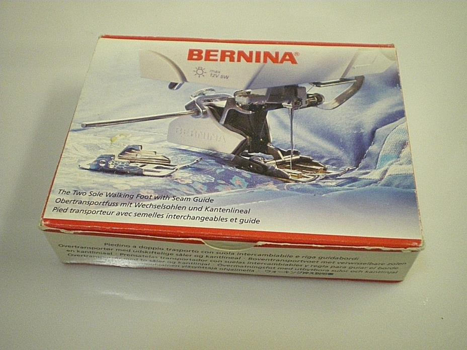BERNINA Two Hole WALKING FOOT w/ Seam Guide For 180 Sewing Machines 008 969 7000