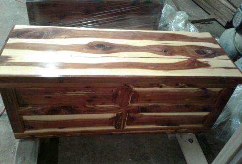 Hand Crafted Arkansas CEDAR Wood  HOPE CHEST / TRUNK  Hand Made