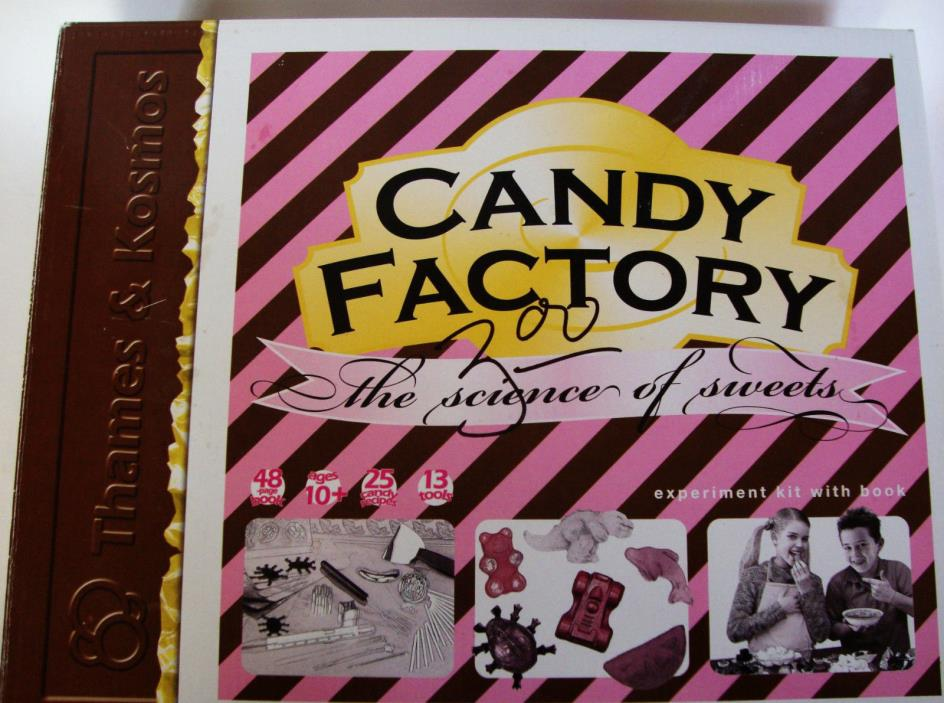 Candy Factory kit Science of Sweets Thames & Kosmos chocolate fudge new box 2006