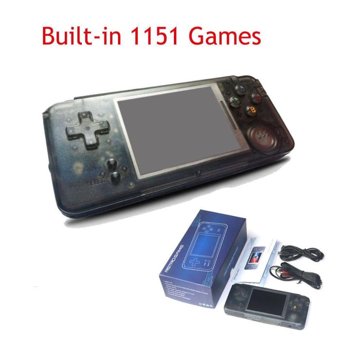 64bit Handheld Retro Video Game Console Portable Classic 1151 Games Player