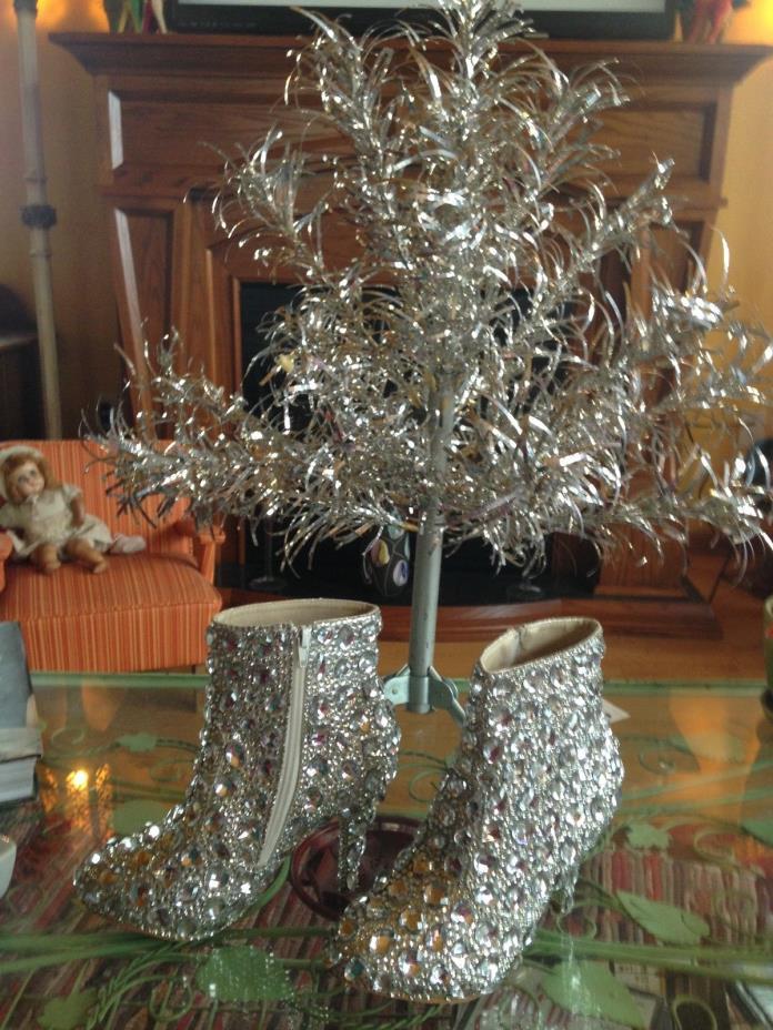 BLING BOOT  Wedding shoe SIZE 7 1/2