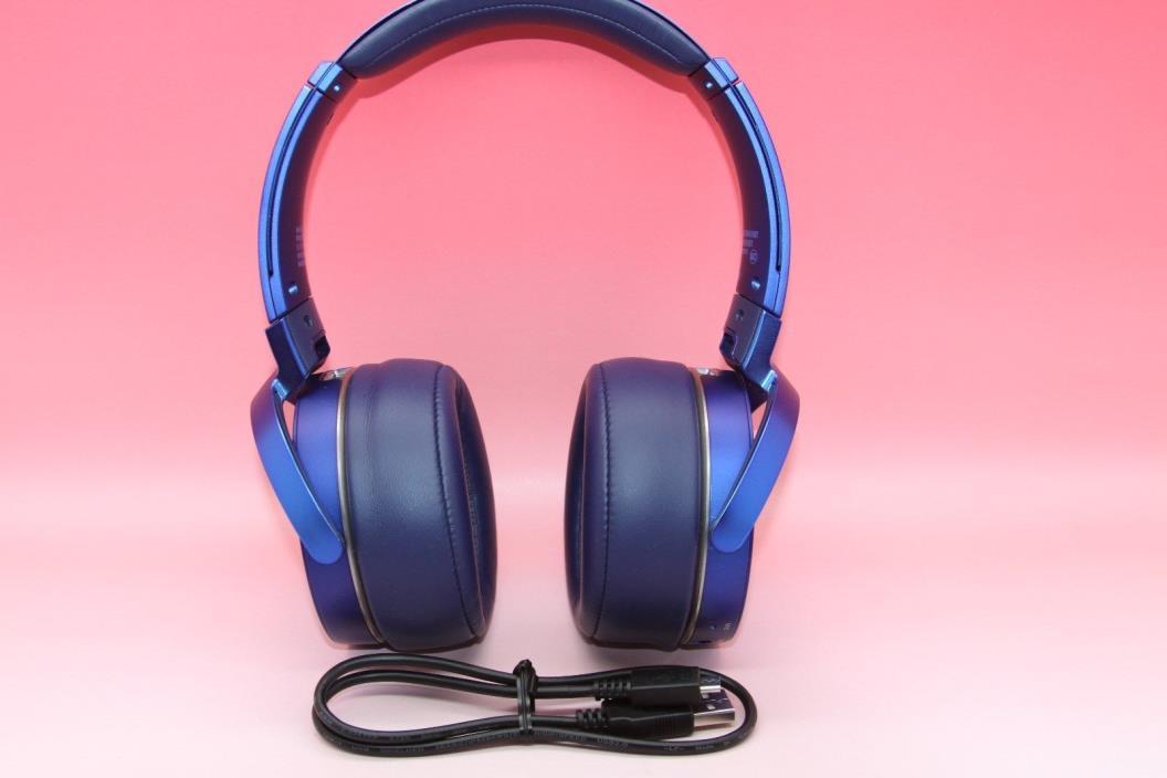 Sony XB950B1 Extra Bass Bluetooth Headset  With w/ App Control Blue(2017 model)