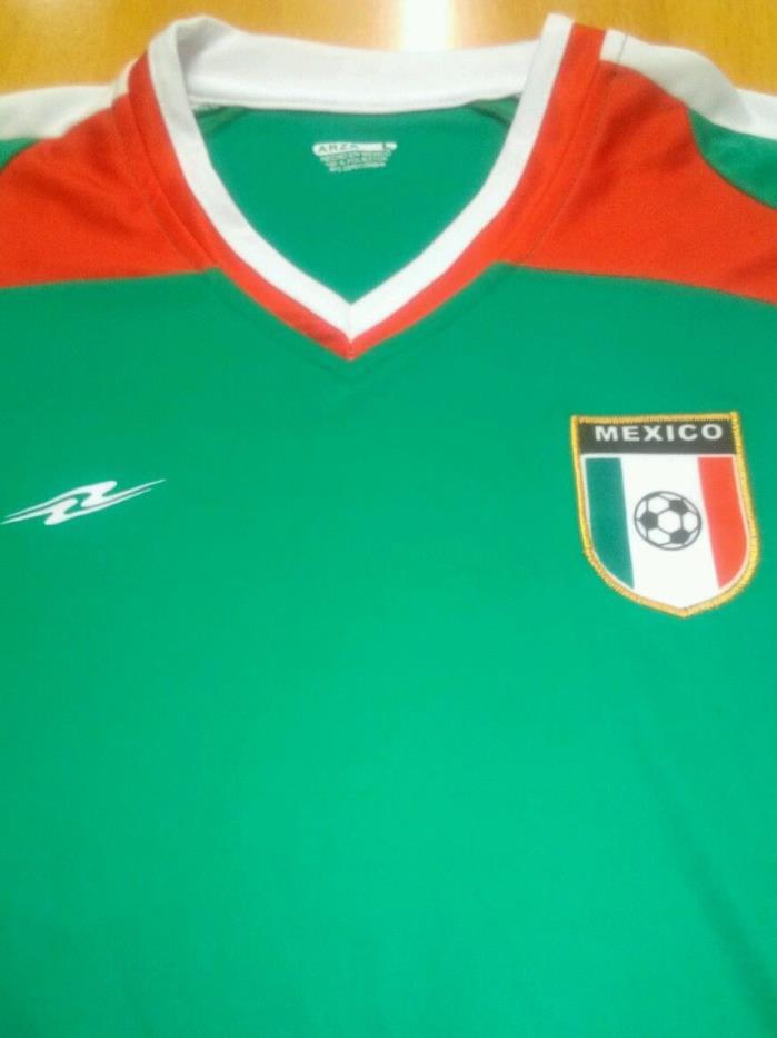 Mexico Soccer Jersey  Arza Size Men Medium