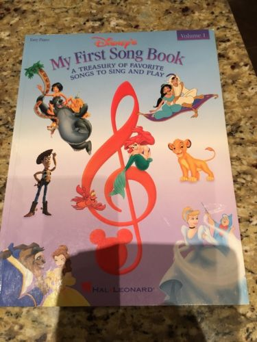 Style Collections Disney: Disney's My First Songbook (1998, Paperback)