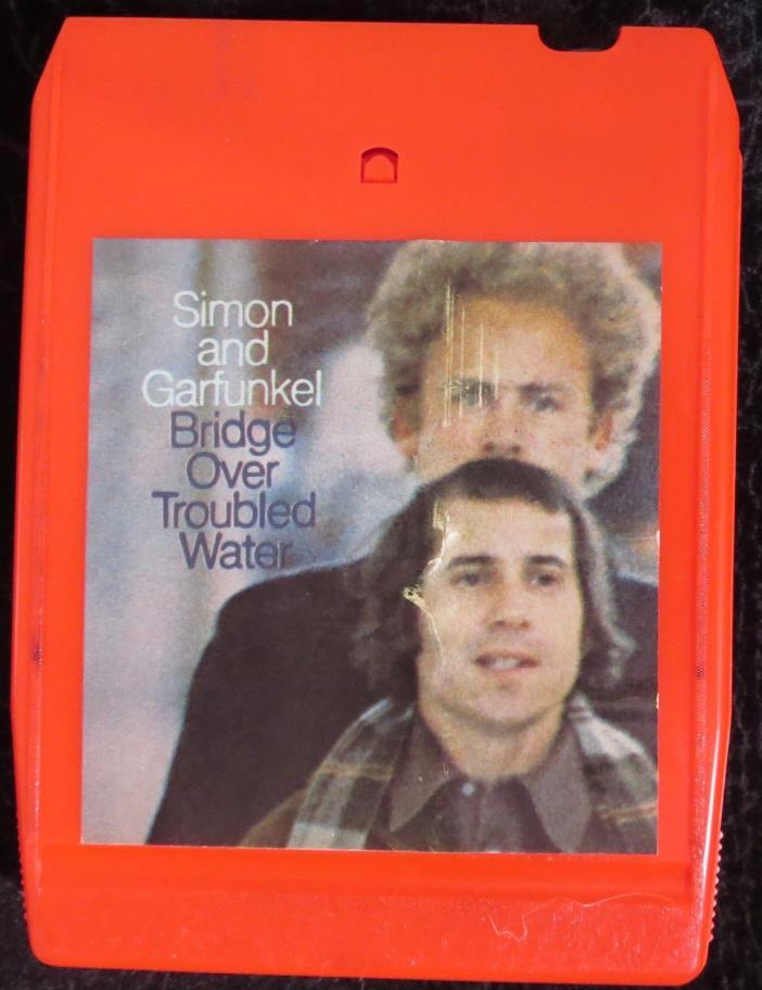 SIMON & GARFUNKEL, Bridge Over Troubled Water USA 8-track cartridge