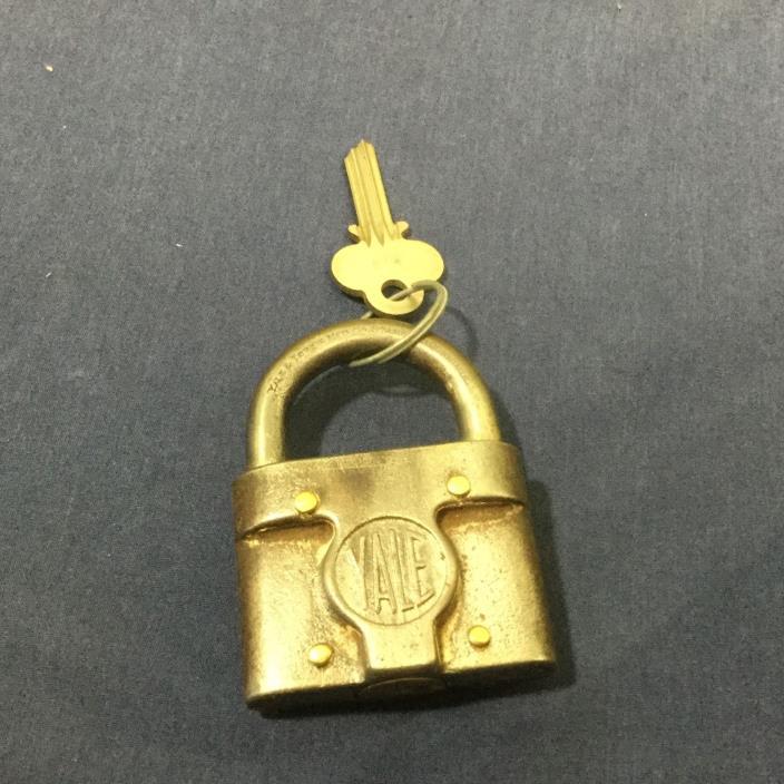 Vintage/ antique  Yale padlock