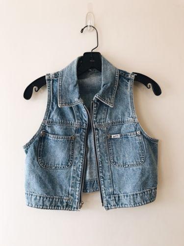 Vintage Guess Jean Vest