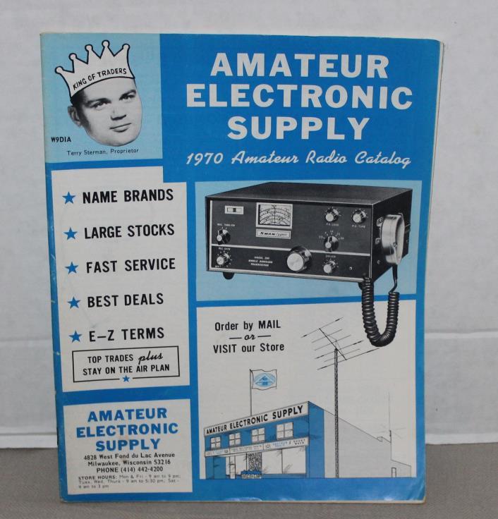 Vintage 1969 Amaeur Electronic Supply CB Transceiver Catalog Ham Radio