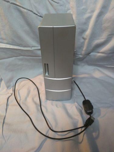 Mini USB Cooler Fridge Desktop Cooling Refrigerator Can or Bottle Soda Silver