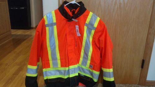 Work King, hi-vis, bomber, insulated, orange ,XL, model S41311