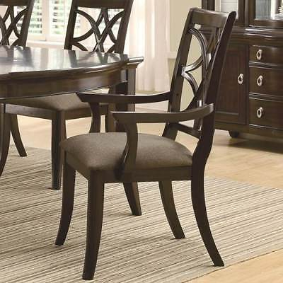Dining Chair in Espresso Finish - Set of 2 [ID 3189769]