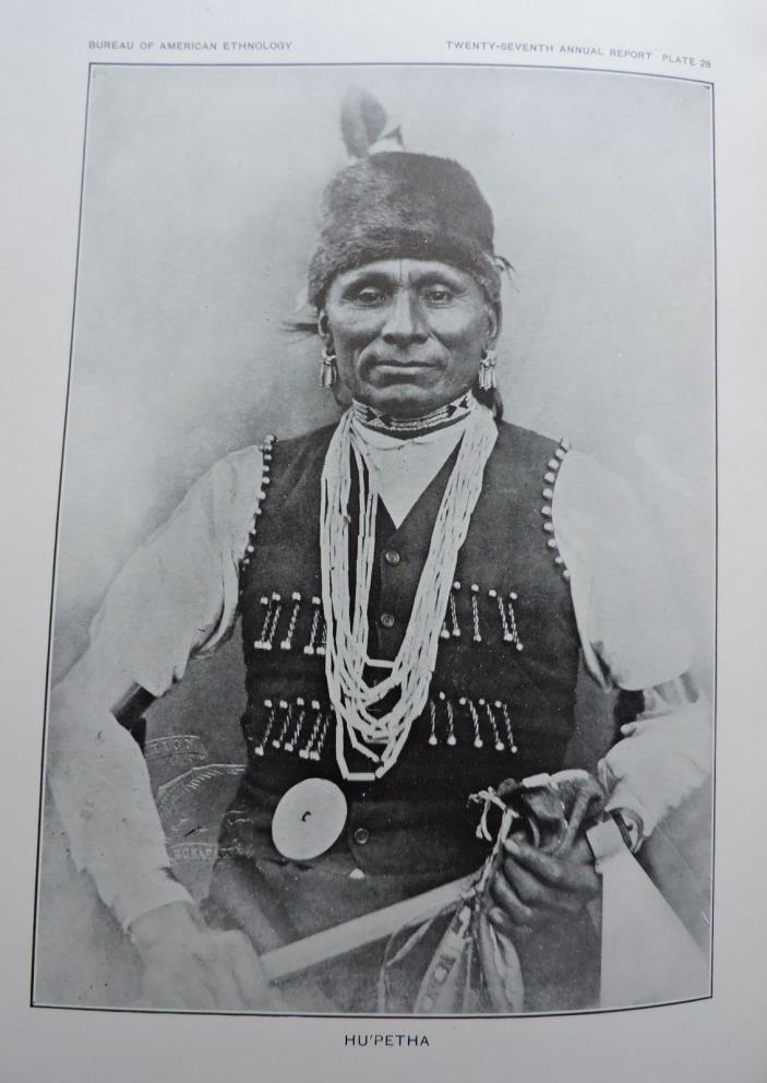 Hu'petha Native American Ethnology Art Print 1911
