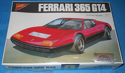 NICHIMO Ferrari 365 GT4 -WW 2405 Factory Sealed-Scale Model Car Kit