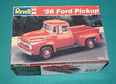 '56 Ford Pick Up Revell 1/25 Complete & Unstarted.