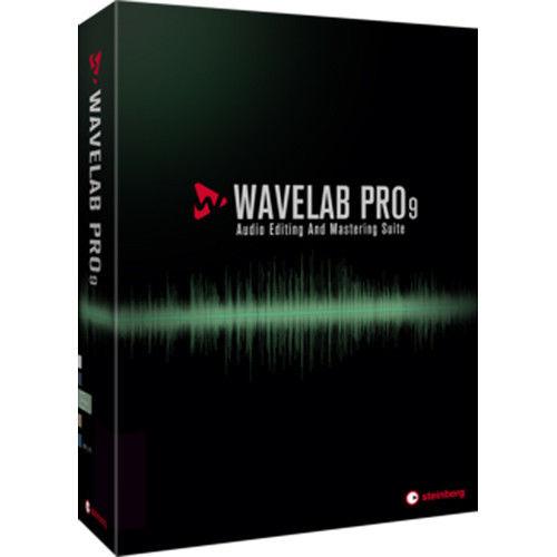 Steinberg WaveLab 9 Mac PC Audio Editor