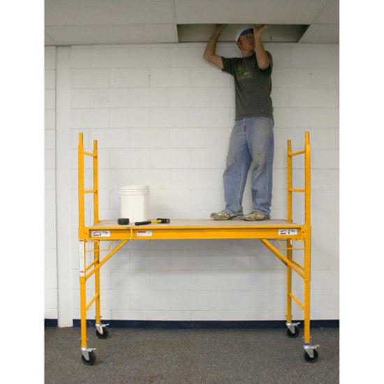 HomeScaffolding System Towner HeavyDuty Rolling Wheels Professional 6 Feet N