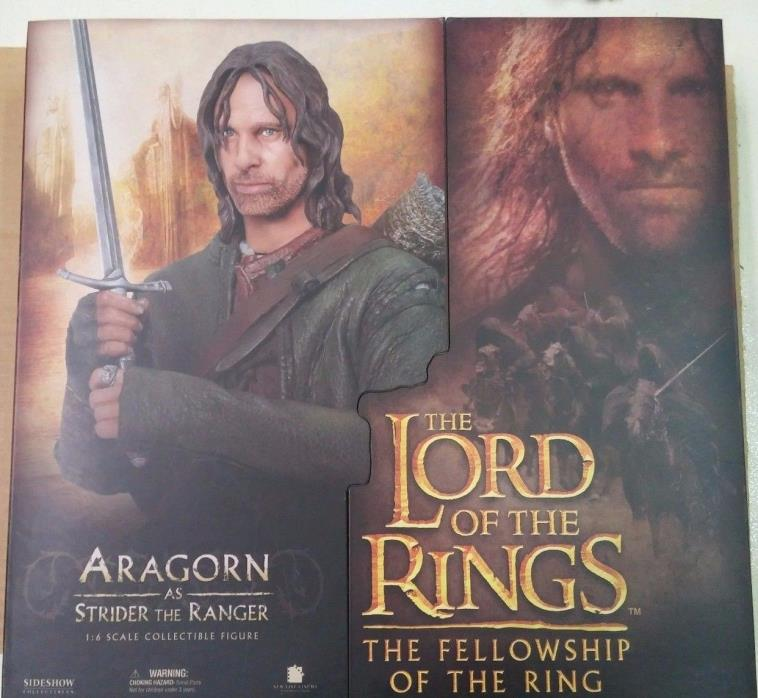 Sideshow LOTR Lord of the Rings ARAGORN as Strider 12