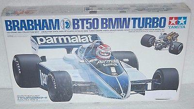 TAMIYA BRABHAM BT50 BMW TURBO 1:20 GRAND PRIX PLASTIC MODEL 20017 (SEALED)