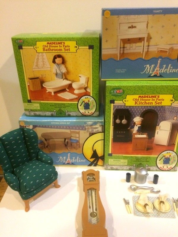 Madeline Dollhouse Furniture.