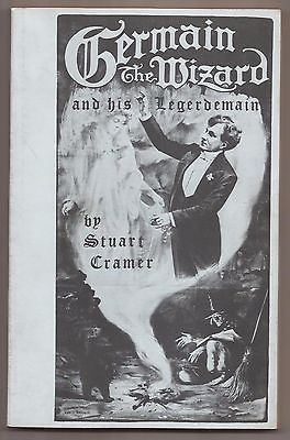 GERMAIN THE WIZARD AND HIS LEGERDEMAIN by Stuart Cramer 1966